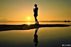 夕陽のビィーナス