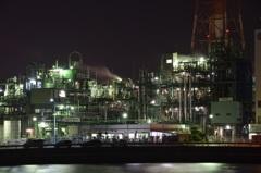 霞ヶ浦工場夜景2