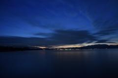 如月南浜夜明け前1