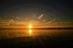 凪の琵琶湖