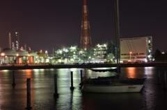 霞ヶ浦工場夜景1