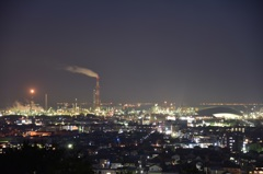 垂坂公園工場夜景1