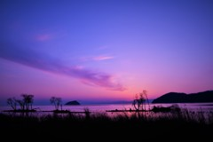雲と夕焼けのリズム
