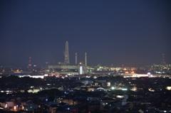 垂坂公園工場夜景2