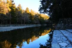 水清き五十鈴川