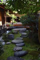 旧長谷川邸 中庭