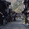 奈良井宿の町筋
