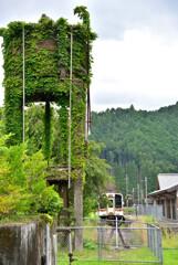給水塔のある駅