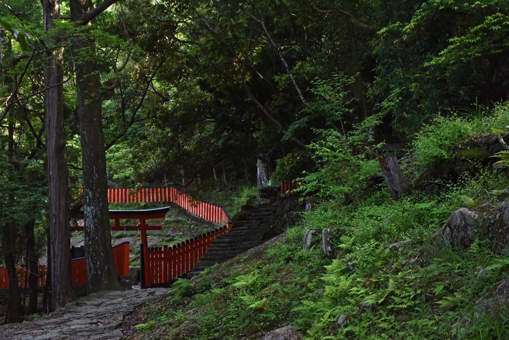 神倉神社へ着きました