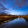 浅野川沿いの主計町茶屋街