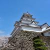 桜吹雪の鶴ヶ城
