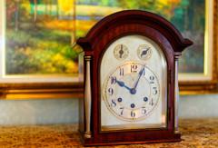 アンティーク置時計  (江戸東京たてもの園 西ゾーン)
