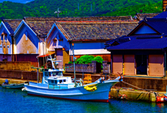 清酒宝船の酒蔵 (萩市 姥倉運河)