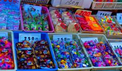 昔懐かし 駄菓子 (小江戸川越 菓子屋横丁)