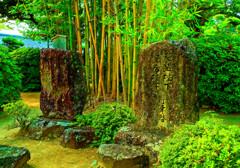 平成天皇・皇后 行幸啓の石碑 (萩市 松陰神社 )