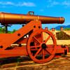 長州藩の洋式大砲 レプリカ (山口県萩市)