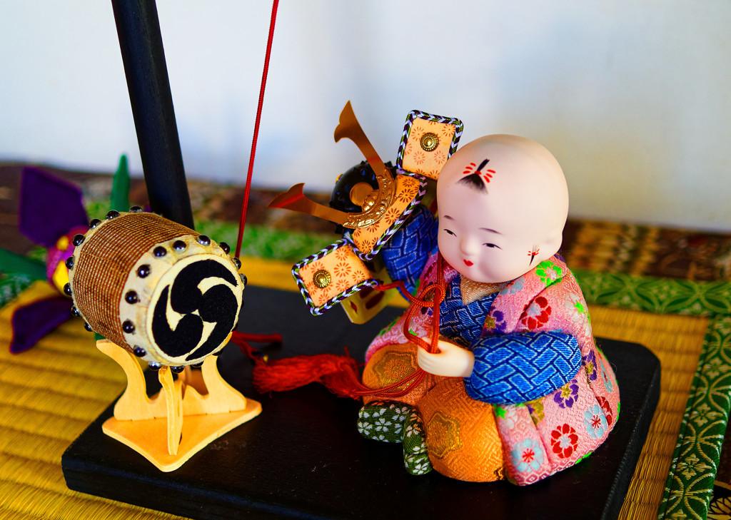 端午の節句装飾 (横浜山手西洋館 外交官の家)