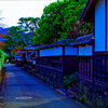 城下町の情景 (山口県萩市)