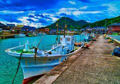 玉江浦漁港  (山口県萩市)