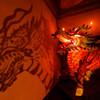 長崎ランタンフェスティバル 麒麟と影 (雅叙園 和のあかり展)