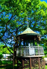 上野消防署 望楼上部  (江戸東京たてもの園 東ゾーン)