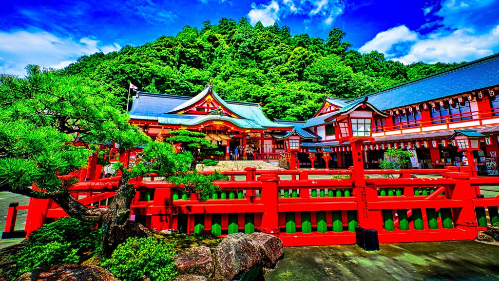 太皷谷稲成神社 境内(津和野町)