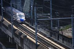 津幡の新幹線見える公園