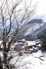 雪の相倉集落