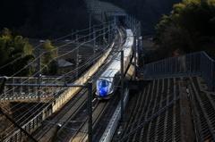 夕刻の北陸新幹線~上り