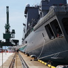 海自巨大補給艦おうみNo2~伏木港
