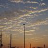 朝焼け雲を見上げて思うこと…