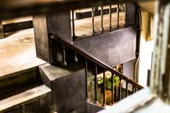 銀座奥野ビル階段
