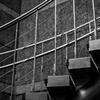 金属の階段