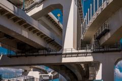 Under the Metropolitan Expressway