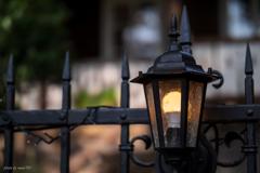 フェリーチェガーデンのランプ