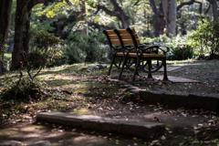 日比谷公園ベンチ