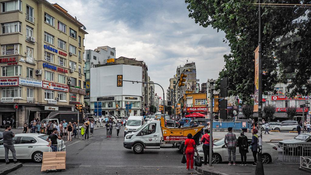 トラベラーズアイ:イスタンブールの街角