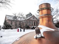 冬のビール園