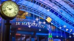 大晦日の博多駅