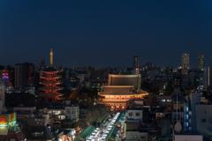 浅草文化観光センターからの眺め