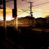 夕暮れ信濃鉄道