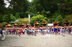 丹生川神社8台の神輿