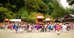 丹生川神社の神輿