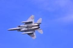 F-15のお腹です。