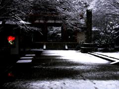 雪の室生寺2