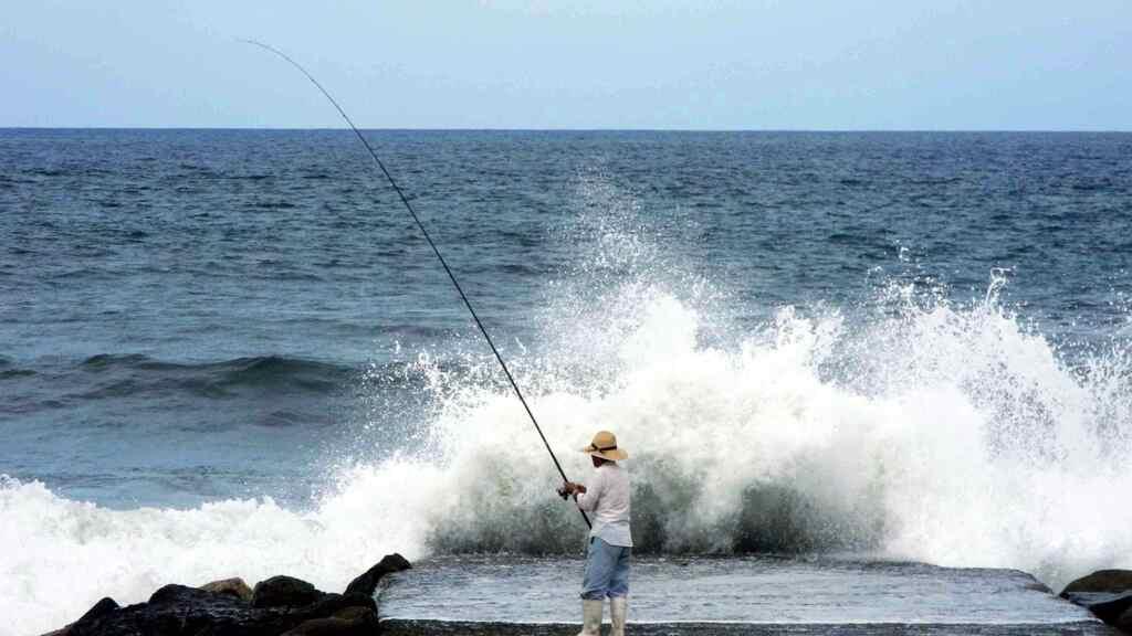 おとと釣り。