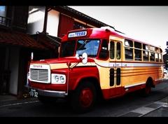 吹屋のバス