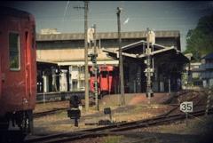 故郷の始終着駅。