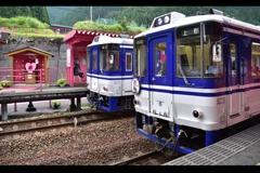恋でHOTな列車たち。