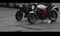 やっぱり、バイクじゃなきゃね。